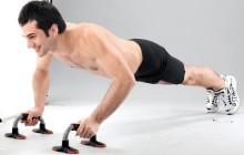 Эффективные упражнения на упорах для отжиманий