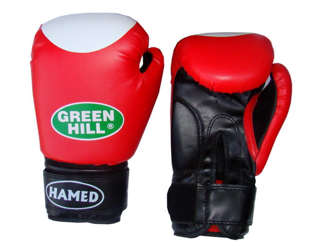 Боксерские перчатки фирмы Green Hill