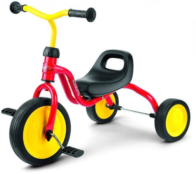 Трехколеснй велосипед Puky Fitsch