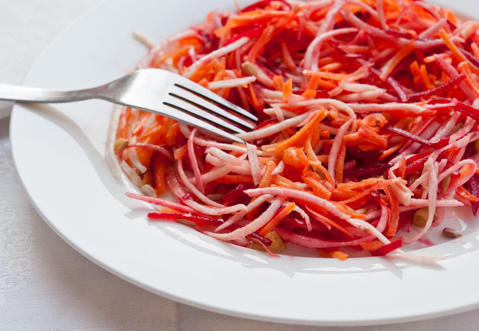Салаты из моркови рецепты для похудения с