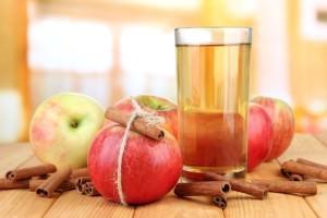 яблоки с водой
