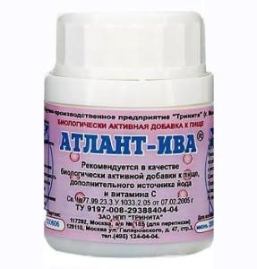 препарат для похудения - Атлант ИВА