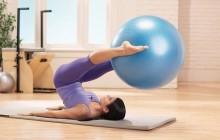 Похудение с помощью упражнений на фитболе