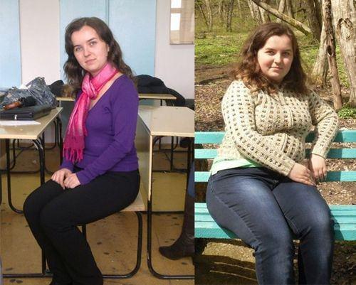 до и после химической диеты