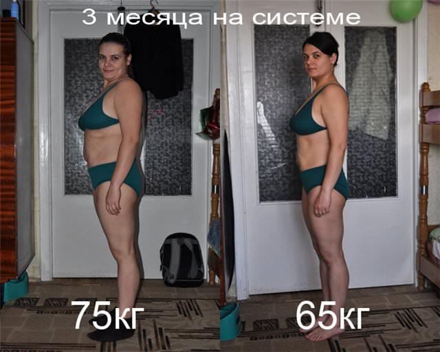 Сбросить 10 кг за месяц в домашних условиях
