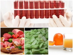 овощи диеты по группе крови