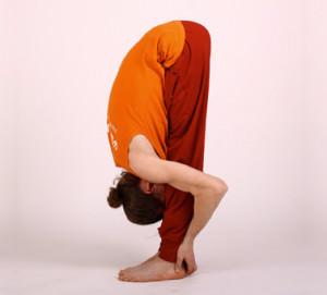 Уттанасана - упражнение для йоги