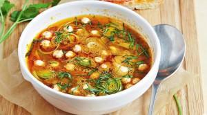 суп из морской рыбы