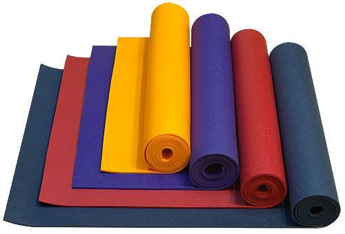 Как выбрать коврик для занятий йогой