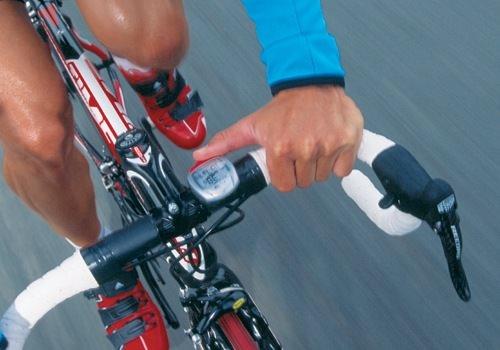 Велосипедный пульсометр
