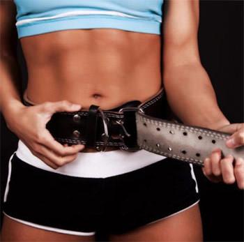 Женский атлетический пояс