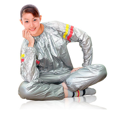 девушка в костюме сауна