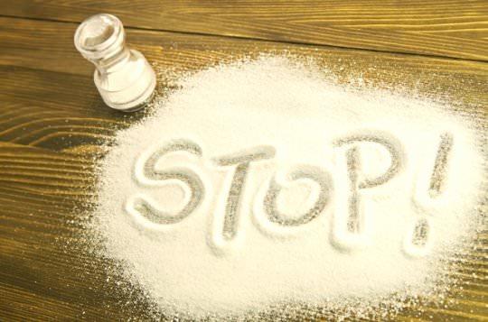 рассыпанная соль