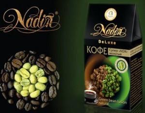 зеленый кофе надин