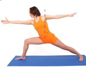 Вирабхадрасана II - упражнения для йоги