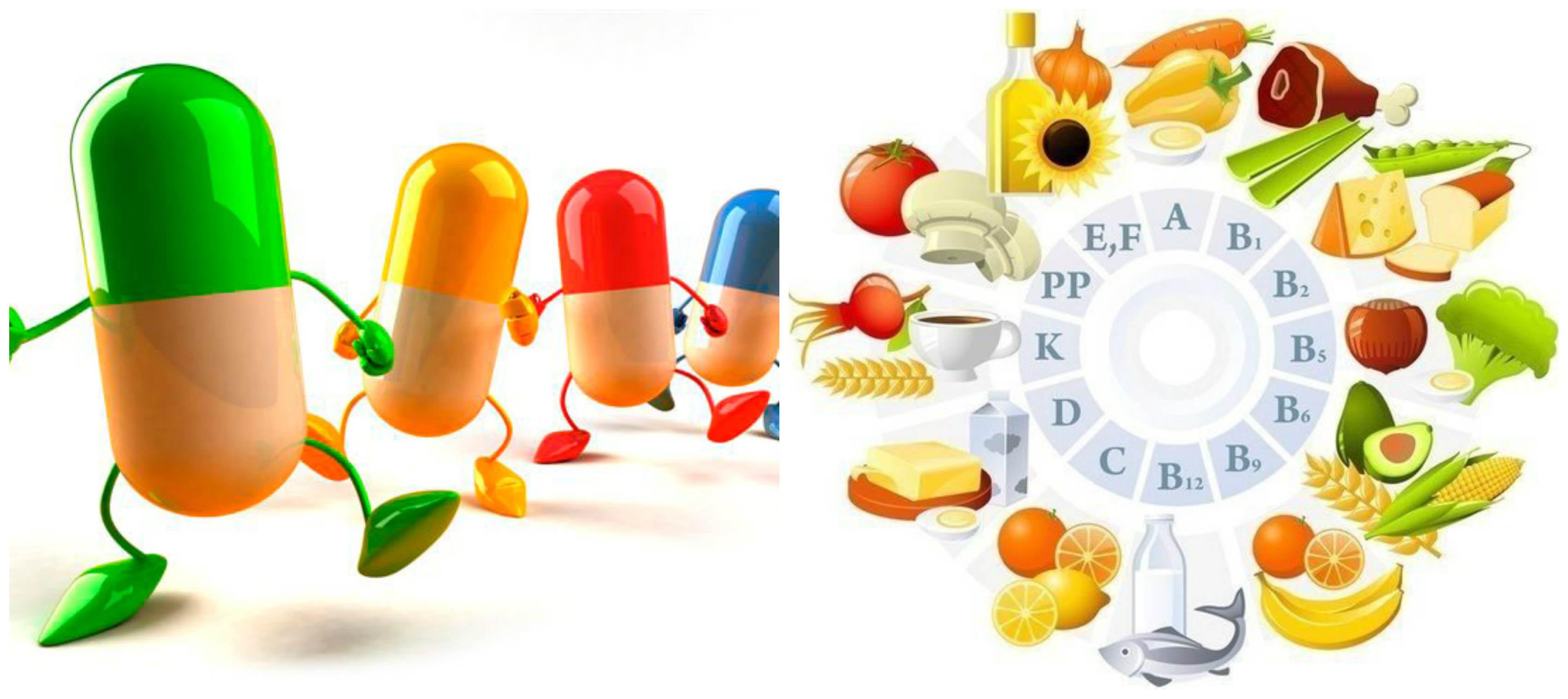 Список витамин