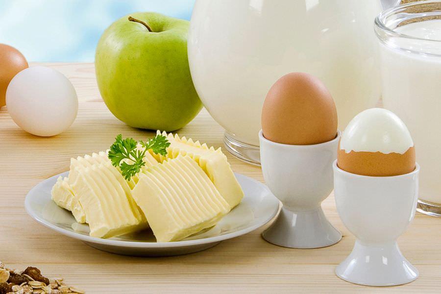яица и сыр