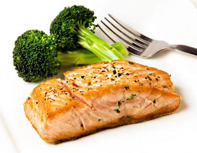 мясо и брокколи